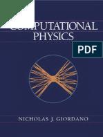 Giordano Computational Physics