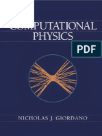 Giordano Computational Physics