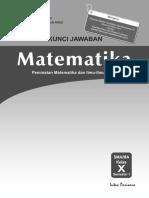 Kunci Jawaban RPP PR MAT 10A PEMINATAN 2014