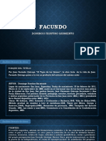 Análisis Literario de FACUNDO