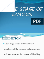 Third Stage of Labour