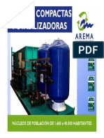 AREMA CATALOGO Planta Compacta Potabilizacion 2017