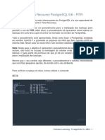 Backup & Recovery PostgreSQL9.6 - PITR