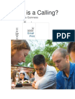 What is a Calling.docx