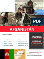 Folleto - Afganistan