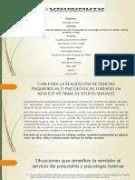 Protocolos de Medicina Legal