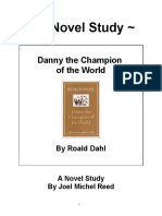 Danny the Champion of the World Novel Study Preview
