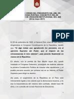 Discurso de Orden Del Presidente Del JNE Dr Víctor Ticona Postigo Con Motivo Del 86 Aniversario de Creación Institucional Del JNE