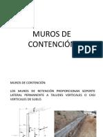 Presentación Muros de Contención
