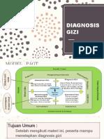 Diagnosis Gizi
