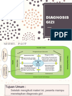 Diagnosis Gizi