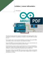 Tutorial de Arduino y sensor ultrasónico HC.docx