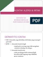 Dermatitis Kontak Alergi & Iritan