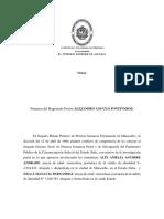 SC Penal 2000 - La Jurisdicción Militar Según Reiterada Jurisprudencia Del Tribunal Supremo de Justicia Es de Excepción.