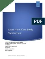 Avari Case Review