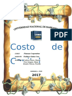 Costo de Capital Monografia