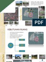 existing dan rencana pengembangan tapak