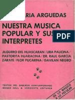 Nuestra Música y sus Interpretes (Parte 1)