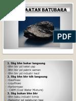 Pemanfaatan batubara