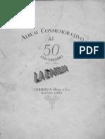 Album Conmemorativo Del 50 Aniversario de La Emilia