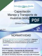 Ppt Manejo Trasnporte Muestras