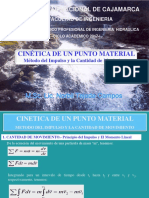 Cinetica de Un Punto Material.- Impulso y Cantidad de Movimiento - 2017-I