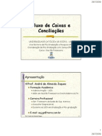 DFC Fluxo de Caixa Conciliações