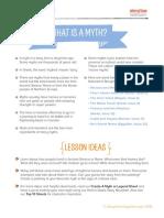 Storytime School Magazine Teaching Resources Myth Pack