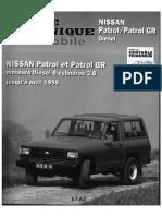 Nissan Patrol GR KY260- KY260T-Y60-RD28T Manual de Mecanica
