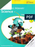 Cambridge Primary Science 1 Learner's Book