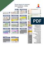 Calendario Académico 16-17