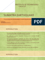 Assignment on Sumatra Earthquake