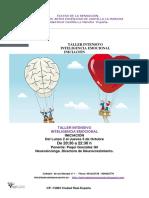 Teatro de La Sensacion-taller Intesivo de Inteligencia Emocional-octubre 017