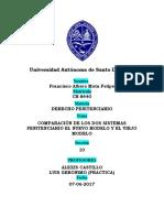 Trabajo de Penitenciario, comparacion de los dos modelo penitenciario en la republica dominicana