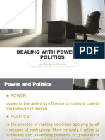 Dealing With Power and Politics