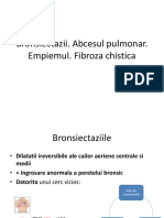Bronsiectazii Romana