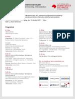 Steilvorlagen für den Unternehmenserfolg 2017 -Digitization