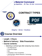 Contract Types Aug07