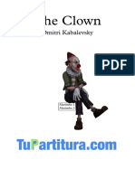 The Clown - Partitura y Partes