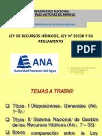 Ley de Recursos Hidricos[1]