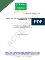 Applying the ACSM Preparticipation Screening Algorithm to U.S. Adults