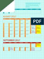 wh a pacing calendar
