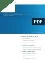DISEÑO Y CONSTRUCCIÓN DE FERROCARRILES - METROS