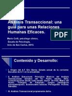 CUM Análisis Transaccional,2009.