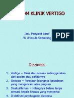 08 Vertigo (Ilmu Penyakit Saraf FK Unissula Semarang)