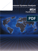 MSA Reference Manual 4th Edition