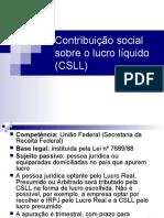 CSLL e IOF