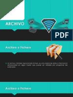 Que es un archivo o fichero