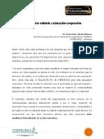 Pensamiento Solidario y Educación Cooperativa_Colombia