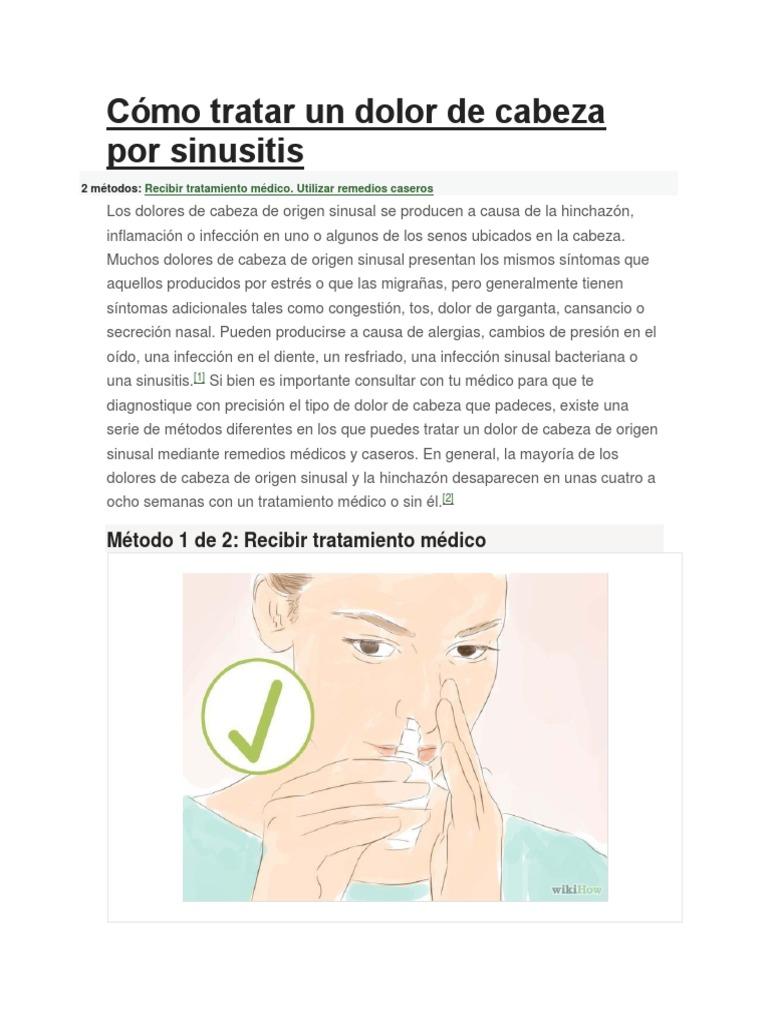 Como limpiar la nariz obstruida wikihow